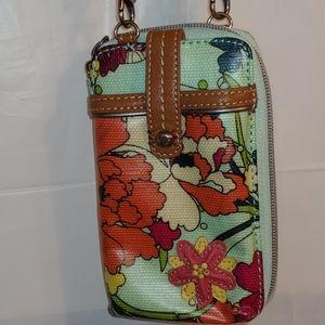 Sakroots Peace crossbody/shoulder mini bag/wallet